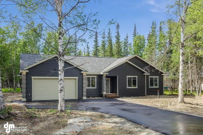 Wasilla Single Family Home For Sale: 9796 W Trimotor Street