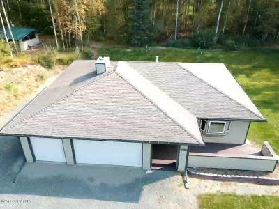 Chugiak Single Family Home For Sale: 22345 Hilltop Circle