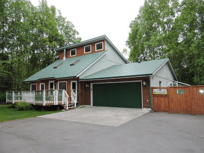 Chugiak Single Family Home For Sale: 20214 Steffes Street