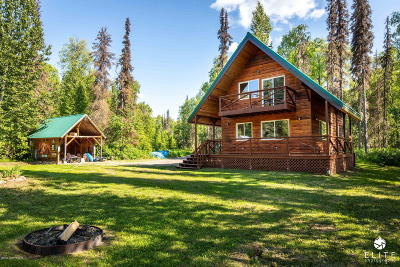 Talkeetna Single Family Home For Sale: 29090 Talkeetna Spur Road