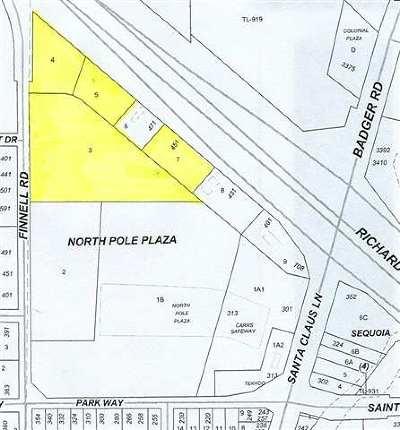 NORTH POLE Commercial Lots & Land For Sale: Lot 3 Santa Claus Lane