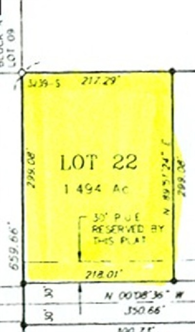 North Pole AK Residential Lots & Land For Sale: $14,500