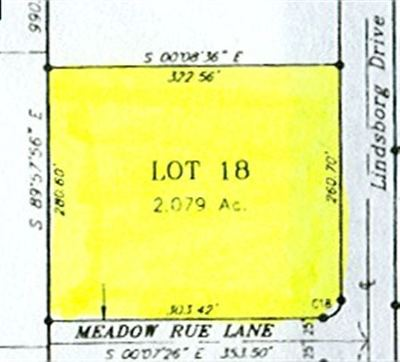 North Pole Residential Lots & Land For Sale: Lot 18 Greer