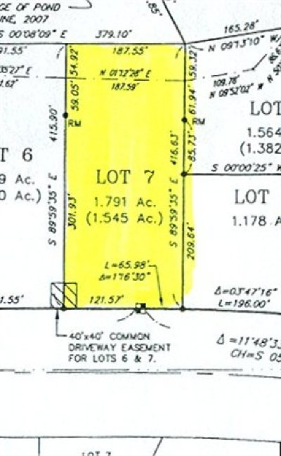 Residential Lots & Land Sold: Lot 7 Greer