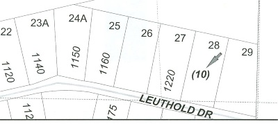 Residential Lots & Land Sold: Lot 28 Leuthold Drive