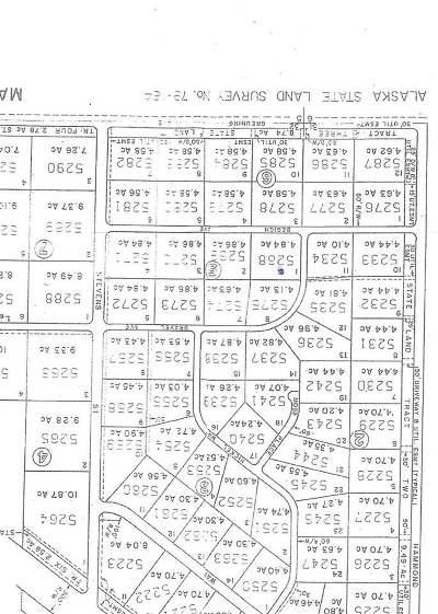 Delta Junction Residential Lots & Land For Sale: Nhn Begich Street