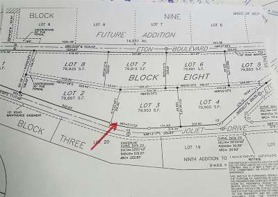 Residential Lots & Land Sold: L3b8 Joliet Drive