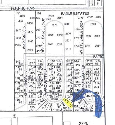 North Pole Residential Lots & Land For Sale: 874 Marquette Loop