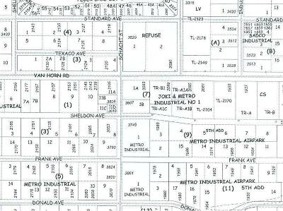 Commercial Lots & Land Sold: 3607 Schacht Street