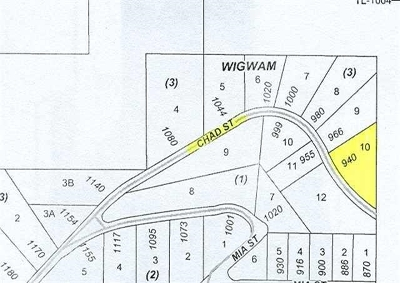 Residential Lots & Land Sold: 940 Chad Street