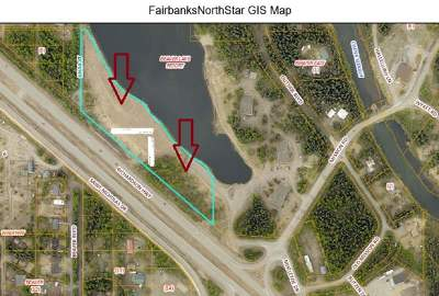 North Pole Commercial Lots & Land For Sale: Nhn N Mistletoe Drive