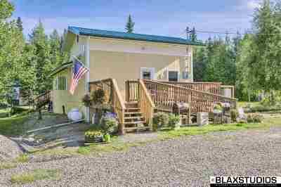 Fairbanks Single Family Home For Sale: 735 Sheep Creek Road