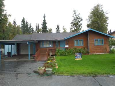 Fairbanks AK Single Family Home For Sale: $214,800
