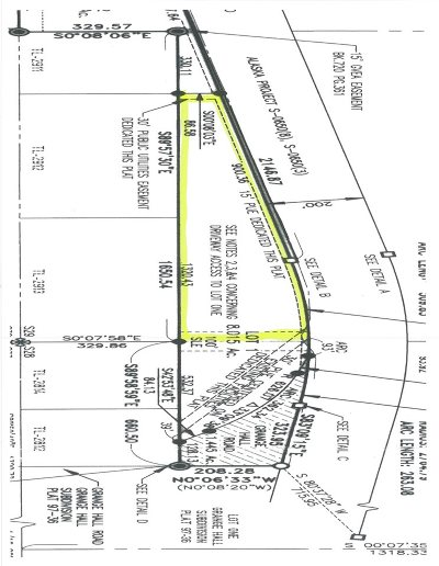 Fairbanks Residential Lots & Land For Sale: Nhn Chena Hot Springs Road