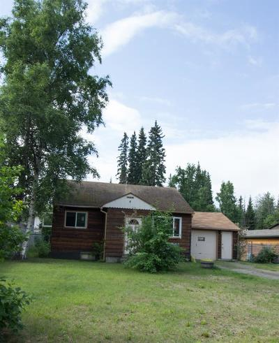 Fairbanks AK Single Family Home For Sale: $189,000