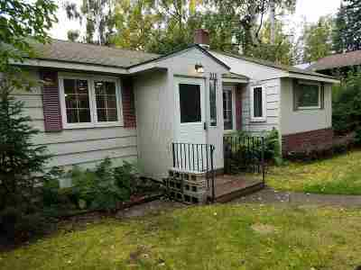 Fairbanks AK Single Family Home For Sale: $124,500