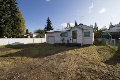 Fairbanks AK Single Family Home For Sale: $97,000