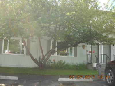Fairbanks AK Condo/Townhouse For Sale: $132,900
