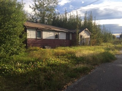 Fairbanks AK Single Family Home For Sale: $15,000