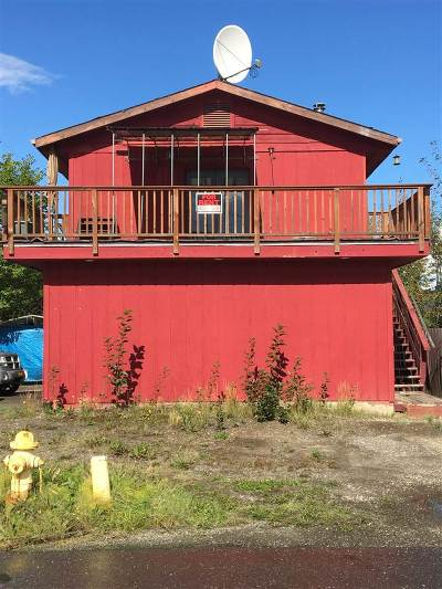 Fairbanks AK Single Family Home For Sale: $175,000