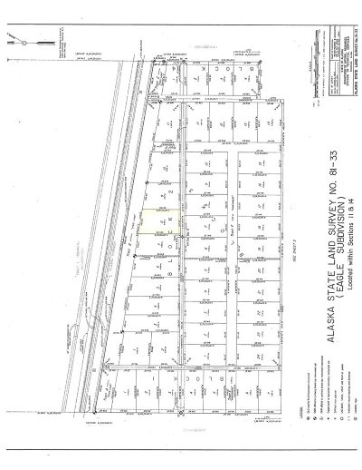 Tok AK Residential Lots & Land For Sale: $10,000