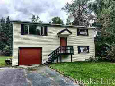 Fairbanks Single Family Home For Sale: 1168 Hayes Avenue
