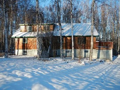Fairbanks Single Family Home For Sale: 156 Mountain View Drive