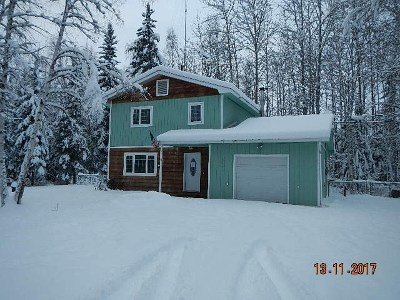 North Pole AK Single Family Home For Sale: $160,000