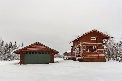 Fairbanks North Star Borough Single Family Home For Sale: 859 Chena Pump Road