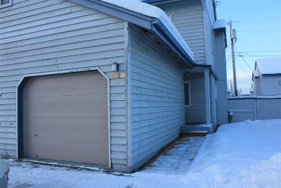 Fairbanks AK Condo/Townhouse For Sale: $115,000