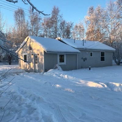 North Pole Single Family Home For Sale: 358 Finell Drive