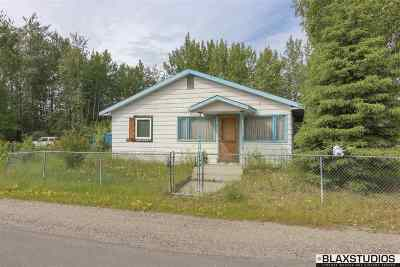 Fairbanks AK Single Family Home For Sale: $85,000