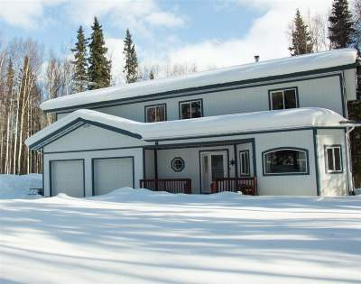 Fairbanks AK Single Family Home For Sale: $329,000