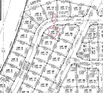 Residential Lots & Land For Sale: Nhn Joyce Drive