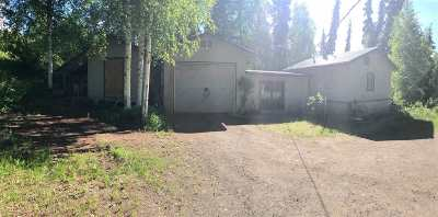 Fairbanks AK Single Family Home For Sale: $99,900