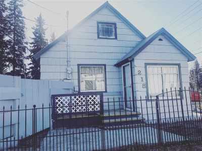 Fairbanks AK Single Family Home For Sale: $85,000