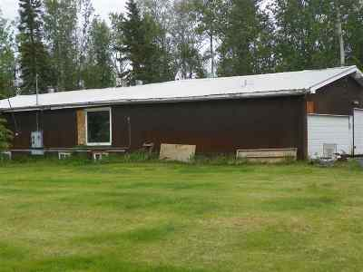 Delta Junction AK Single Family Home For Sale: $69,000