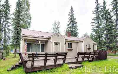 Fairbanks AK Single Family Home For Sale: $184,500