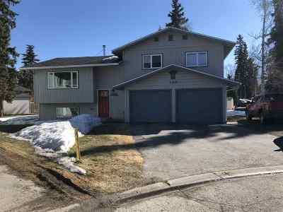 Fairbanks AK Single Family Home For Sale: $298,500