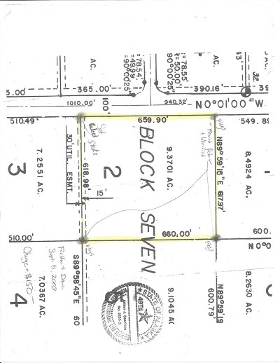 Delta Junction Residential Lots & Land For Sale: L2 B7 Hammond Street