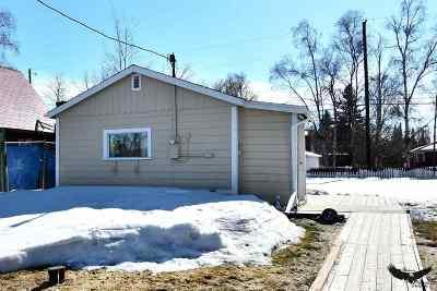 Fairbanks AK Single Family Home For Sale: $112,900