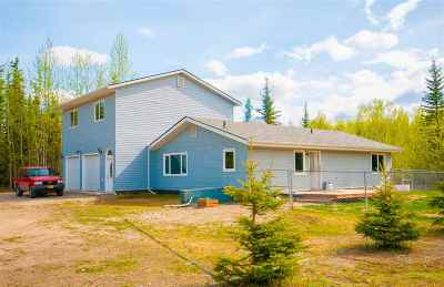 NORTH POLE Single Family Home For Sale: 3505 Yellowstone