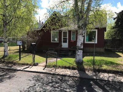 Fairbanks AK Single Family Home For Sale: $129,900