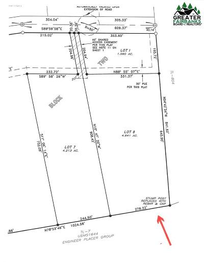 Fairbanks Residential Lots & Land For Sale: Lot 8 Block 2 Polkadot Drive