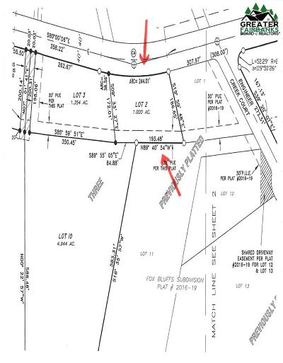 Fairbanks Residential Lots & Land For Sale: Lot 2 Block 3 Polkadot Drive