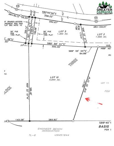 Fairbanks Residential Lots & Land For Sale: Lot 10 Block 3 Polkadot Drive