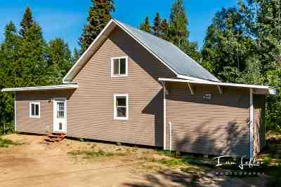 Fairbanks North Star Borough, Southeast Fairbanks Census Area Single Family Home Back On Market: 1875 Bluegrass Drive
