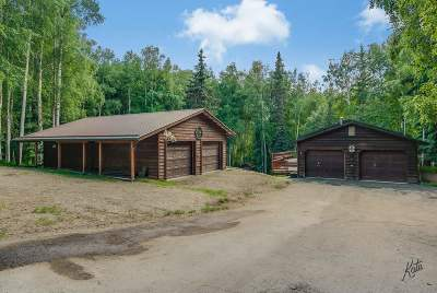 Fairbanks Single Family Home For Sale: 407 Hillside Drive
