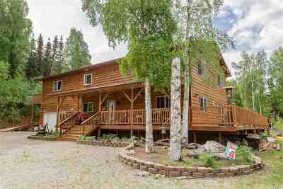 Fairbanks AK Single Family Home For Sale: $349,900