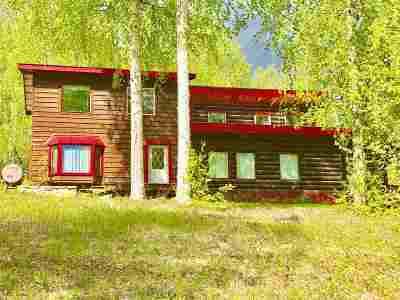Delta Junction AK Single Family Home For Sale: $185,000